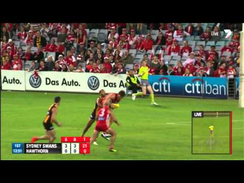 Tippett clunks one – AFL