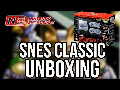 SNES Classic Edition UNBOXING and SIZE COMPARISON | Nintendo Enthusiast