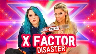 Video We Auditioned for X Factor (story time) + LIVE FOOTAGE | Niki and Gabi MP3, 3GP, MP4, WEBM, AVI, FLV Mei 2019