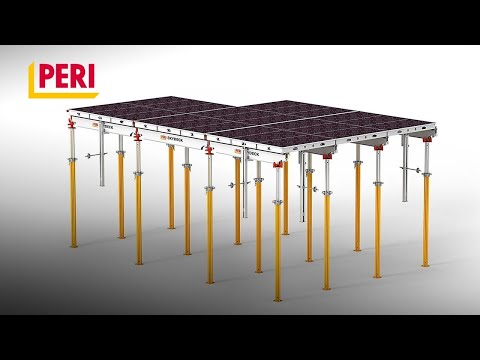 PERI SKYDECK Panelized Slab Formwork - with very fast shuttering times
