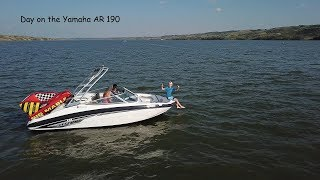 9. Great Day on the New Boat!! - Yamaha AR190