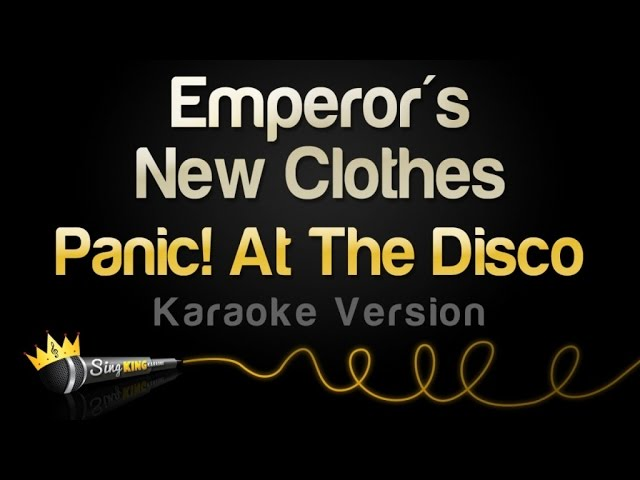 Panic At The Disco Emperor S New Clothes Mp Download