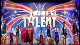 Cossack Dancing Roztiazhka.com Ukrainian Cossack Dancers compete on Channel 7's Australias Got Talent. Ukrainian Cossack ...