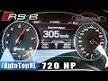 305km/h ACCELERATION on AUTOBAHN by AutoTopNL