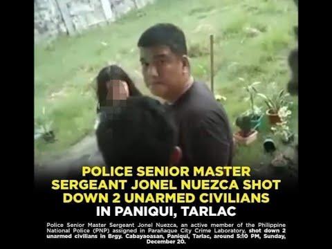 Jon Mon Nue Shooting incident.. Police na pumatay sa mag ina sa paniqui tarlac