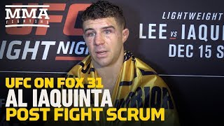 Video UFC on FOX 31: Al Iaquinta Would Like Tony Ferguson Next, Believes He Can Finish Him - MMA Fighting MP3, 3GP, MP4, WEBM, AVI, FLV Desember 2018