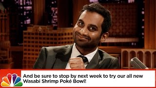 Aziz Ansari and Jimmy Fallon Give Dramatic Readings to Butthurt Yelp Reviews and It's Cringeworthy Comedic Gold