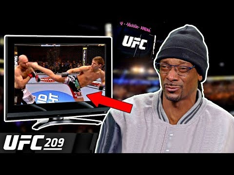 Snoop Dogg Narrates UFC (Best Moments)