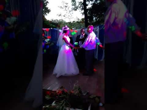 MR AND MRS ELLIOTT WEDDING MEMPHIS TIGER WEDDONG JULY 1ST 2020