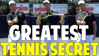Click For Free Video: http://www.topspeedtennis.com/tennis-lag-and-snap-technique/ The Greatest Tennis Secret Ever!  Racquet...