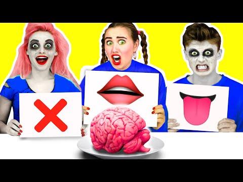Beißen, lecken oder nichts Zombie Challenge von Ideas 4 Fun
