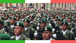 Video MASSIVE Mexican Military Parade 🇲🇽 // Desfile Militar en el Zócalo de la CDMX MP3, 3GP, MP4, WEBM, AVI, FLV September 2018