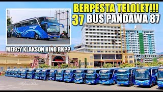 Video [GARASI PANDAWA 87 PINDAH??] KERAMAIAN KLAKSON TELOLET 37 Unit Bus Pandawa 87 MP3, 3GP, MP4, WEBM, AVI, FLV Mei 2019