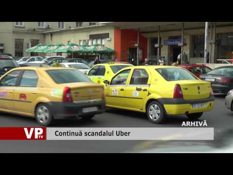 Continuă scandalul Uber