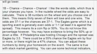 Gambling And Investing!