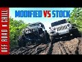 Download Lagu How Good is your Stock Jeep WranglerJK? | Modified Wrangler vs Stock Wrangler Mudding Mp3 Free
