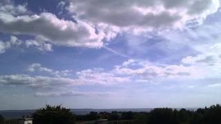 Ciel Breton du dernier jour d'aout 2012 en time lapse