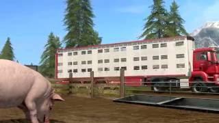 Trailer dedicato agli animali della fattoria
