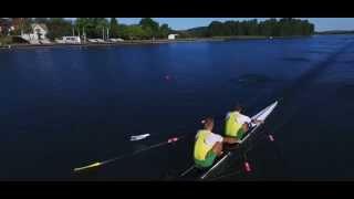 Irklavimo treniruotė su olimpiniais čempionais