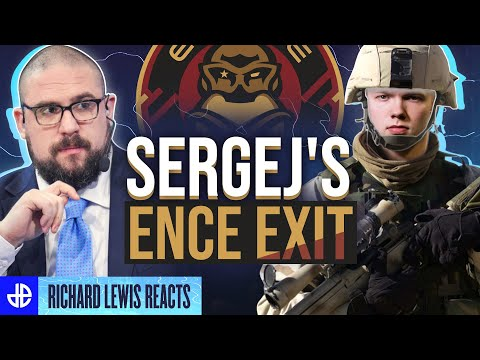 CSGO Player Ditches ENCE for Military | Richard Lewis Reacts to Sergej's Exit