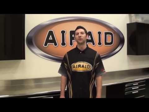 AIRAID Intake Jeep Wrangler 4.0L 1997-2006 Install Video