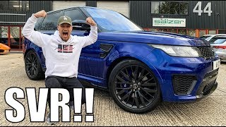 TAKING RANGE ROVER SVR TO THE GYM!! by Supercars of London