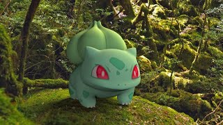 The World Of Pokémon IN REAL LIFE - Bulbasaur, Ivysaur & Venusaur (3D Animation)