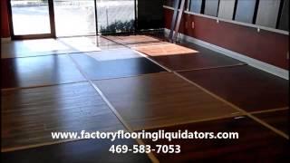 Factory Flooring Liquidators YouTube video