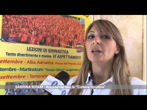 Ginnastichiamo: la settimana dei Superadulti tra Tortoreto, Alba e Martinsicuro VIDEO
