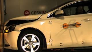 Crash Test Delantero Volvo V40