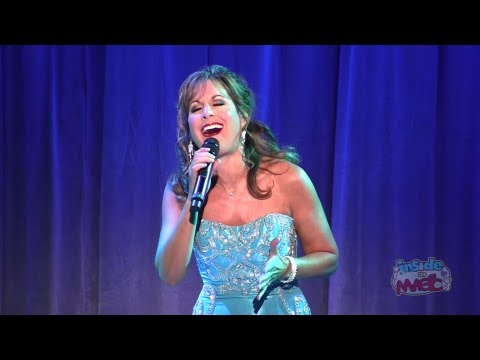 """Jodi Benson (voice of The Little Mermaid) performs """"Part of Your World"""" at the 2011 D23 Expo"""