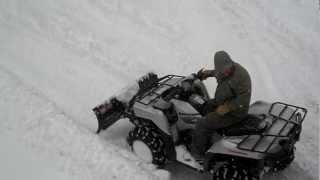 9. Brute Force plowing the blizzard of 2013