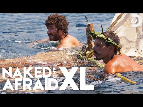 Naked in Shark Infested Waters | Naked and Afraid XL (Season 5)