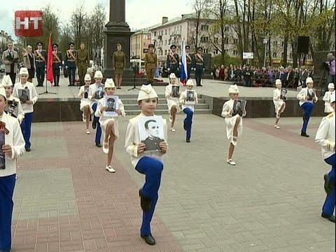 У стелы «Город воинской славы» прошел общегородской торжественный митинг