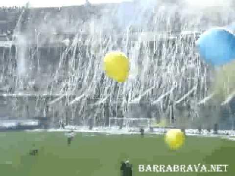 La 12 (Boca Juniors) - Recibimiento historico - barrabrava.net - La 12 - Boca Juniors