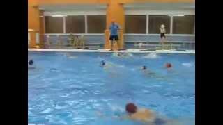 Тренировка по водному поло (видео №2)