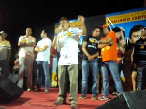 16/09/12 Célio Filho discursando na reunião política do 65 em Cajueiro