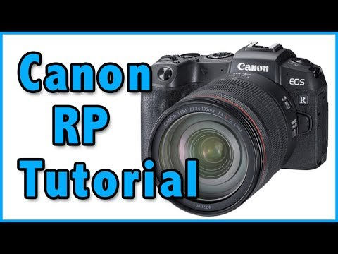 Canon RP Tutorial Training Overview Video