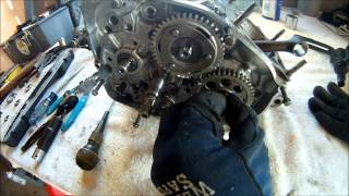 4. Yamaha Blaster Engine Disassembly