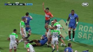 Force v Highlanders Rd.13 Super Rugby Video Highlights 2017