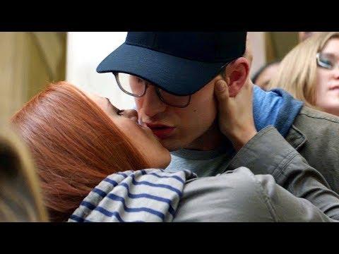 Captain America & Black Widow Kiss Scene - Captain America: The Winter Soldier (2014)
