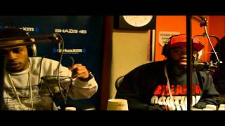 Ryda & Quiet As Kept Live on Shade45 with Dj Kay Slay!!! ( Ryda Been Working!!)