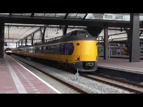 3x ICM met zéér enthousiaste machinist op station Rotterdam CS!