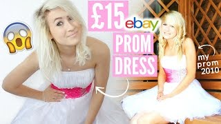 Video Recreating My PROM Makeup, Hair & Outfit (£15 EBAY PROM DRESS) | Sophie Louise MP3, 3GP, MP4, WEBM, AVI, FLV Juli 2018