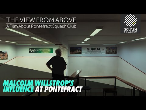 THE VIEW FROM ABOVE: Malcolm Willstrop's Influence At Pontefract