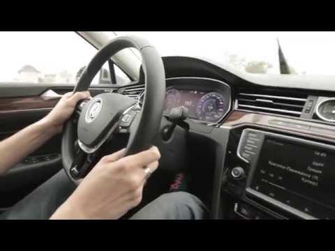 2015 VW Passat B8 2.0 TDI 240 л.с. разгон 0-200 км/ч
