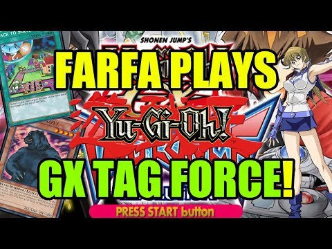 Farfa Plays Yu-Gi-Oh! GX Tag Force / Part 5 / Future Fusion Is BROKEN!