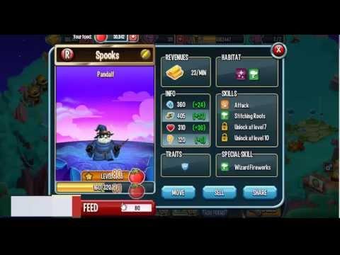 Monster Legends-Pandalf review
