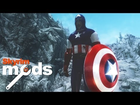 Captain America and the Throwable Shield – Top 5 Skyrim Mods of the Week
