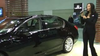 New 2014 Acura RLX P-AWS Sedan - Review, Interior, Exterior - Portland Auto Show 2013